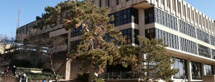 "Wescoe Hall is one of Kansas City + Lawrence ""Musts""."