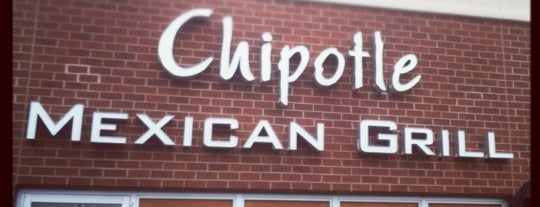 Chipotle Mexican Grill is one of Tempat yang Disukai Patrick.