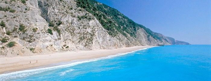 Egkremnoi is one of Best Greek Beaches.