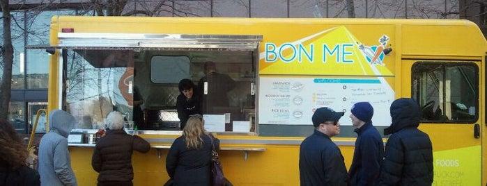 Bon Me Truck is one of Food Trucks in Boston.