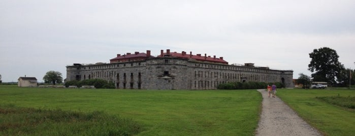 Fort Delaware is one of Best Haunts and Scares In United States-Halloween.