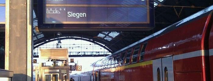 Gleis 8/9 is one of Aachen ÖPNV.
