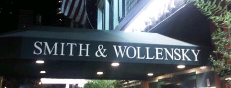 Smith & Wollensky is one of NYC Restaurant Week Uptown.