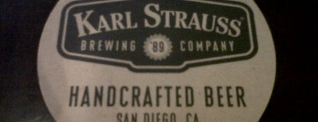 Karl Strauss Brewery & Restaurant is one of Best Breweries in the World.