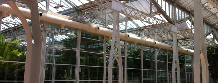 Palacio de Cristal de la Arganzuela (Invernadero) is one of The Best Of Madrid.