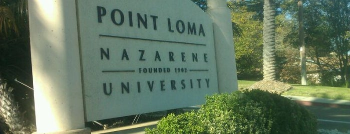 Point Loma Nazarene University is one of SD.