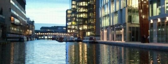 Paddington Basin is one of London.