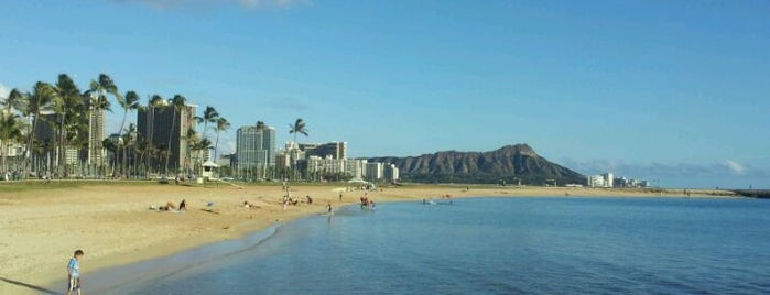 Ala Moana Beach Park is one of Oahu: The Gathering Place.