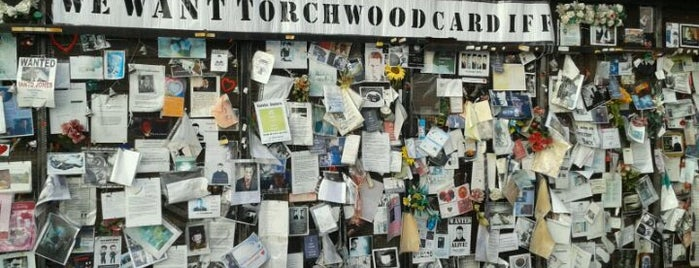 Ianto's Shrine is one of Local's Guide to Cardiff.
