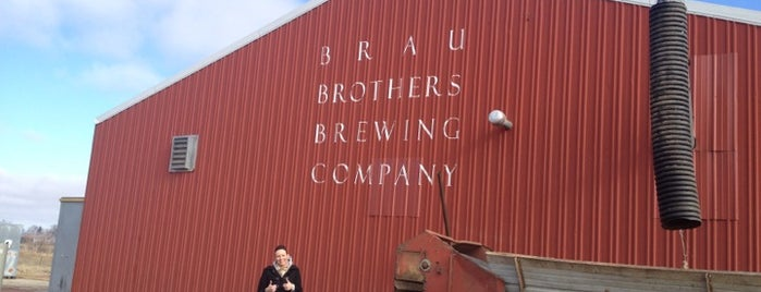 Brau Brothers Brewery is one of Tap Rooms / Breweries in the Greater MN Area.