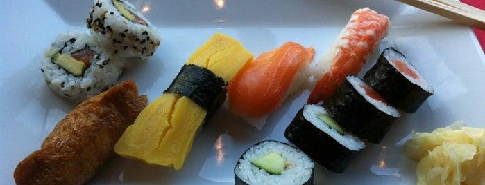 Hanko Sushi is one of Orte, die Johanna gefallen.
