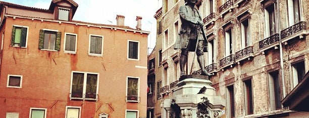 Campo San Bortolomeo is one of Venice.