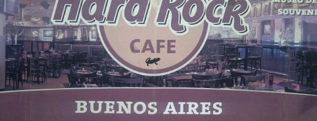 Hard Rock Cafe Buenos Aires is one of Buenos Aires Tour.