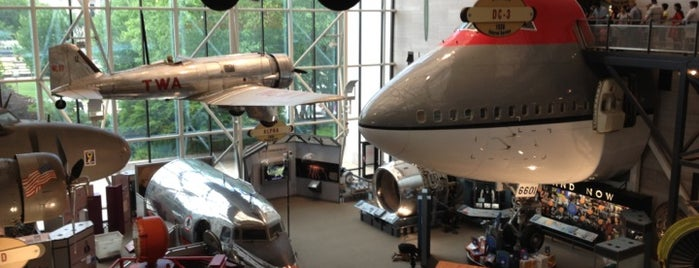 National Air and Space Museum is one of Smithsonian Museums in Washington.