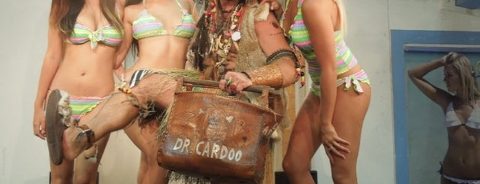 Dr Cardoo's Tiki bar is one of FUN.