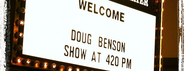 Louie Anderson Theater is one of Dexter's to do list 2.