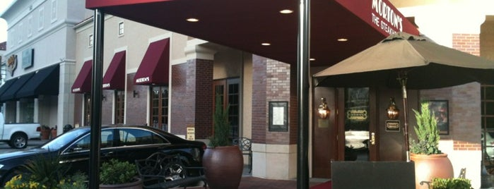 Morton's The Steakhouse is one of * Gr8 Fine Dining—Kurt's Upscale Faves In Dal!.