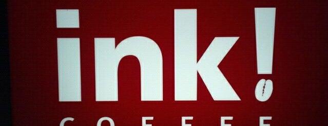 Ink! Coffee Company is one of Locais curtidos por Chip.