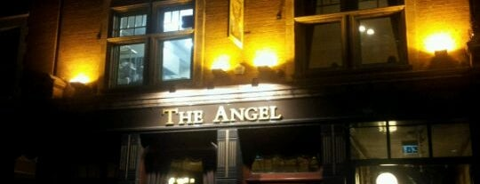 The Angel is one of London.