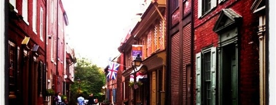 Elfreth's Alley Museum is one of Badge of Brotherly Love #visitUS.