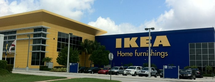 IKEA is one of Miami - FL - USA.