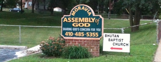 Moravia Assembly Of God is one of Friendly Houses of Worship.