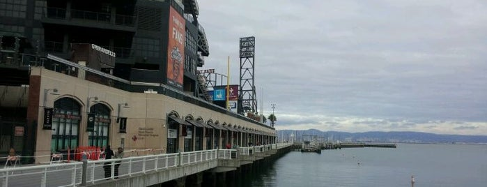 Oracle Park is one of Major League Baseball Parks.