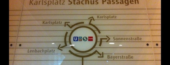 Stachus Passagen is one of Munich.