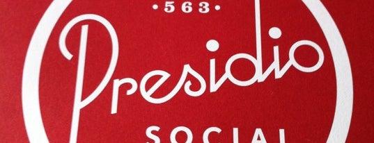 Presidio Social Club is one of I did it in 2020.