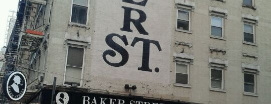 Baker Street Pub is one of NYC Bars.