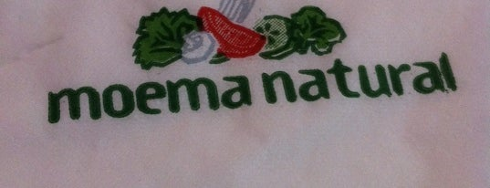 Moema Natural is one of Restaurantes.