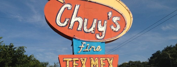 Chuy's is one of Texas.