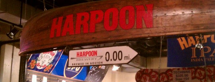 Harpoon Brewery is one of Best US Breweries--Brewery Bucket List.