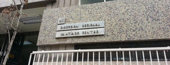 Servicio de Impuestos Internos (SII) is one of Sebastián 님이 좋아한 장소.