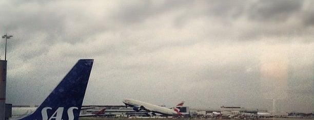 ท่าอากาศยานลอนดอนฮีทโธรว์ (LHR) is one of AIRPORT.