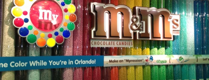 M&M's World is one of My vacation @Orlando.