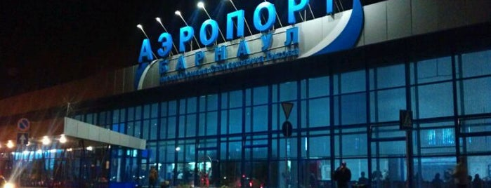 Barnaul International Airport (BAX) is one of Airports I've visited.