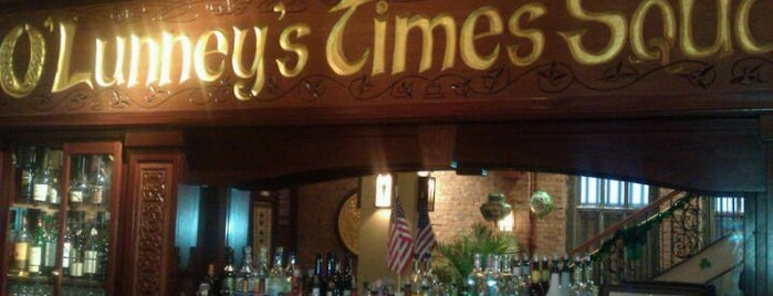 O'Lunney's is one of Favorite Broadway Restaurants.
