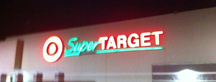 Target is one of Orte, die Brett gefallen.