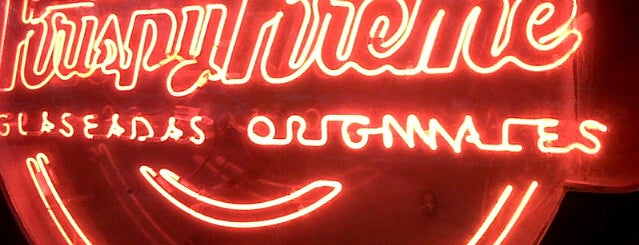 Krispy Kreme is one of Chill 님이 좋아한 장소.