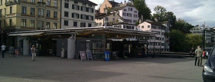 Rathausbrücke is one of Zurich: business trip 2014-2015.