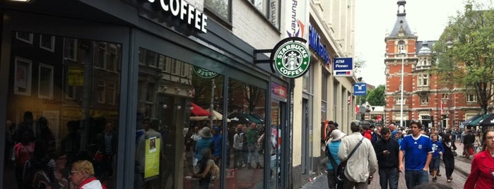 Starbucks is one of New Amsterdam.