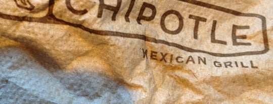 Chipotle Mexican Grill is one of OJM's guide to eating & drinking in London.