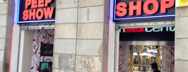Salax Peep Show, Bar and Sex Shop is one of strip clubs 4 XXX.