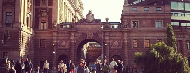 Mynttorget is one of Stockholm City Guide.