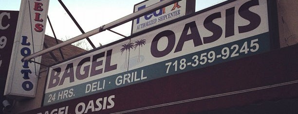 Bagel Oasis is one of Late Night Eats.