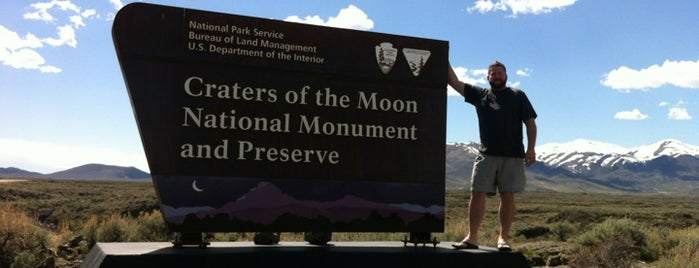 Craters of the Moon National Monument is one of the graduation bucket list.