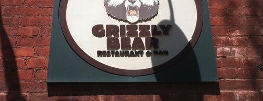 Great Grizzly Bear is one of Lugares favoritos de Brian.