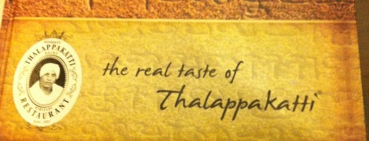Dindigul Thalapakatti Restaurant is one of indisch.