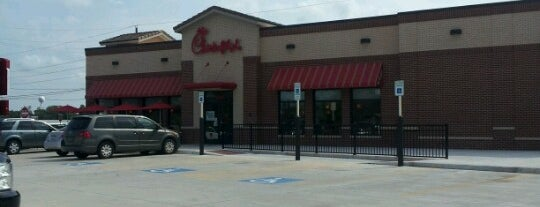 Chick-fil-A is one of Locais curtidos por Marlanne.